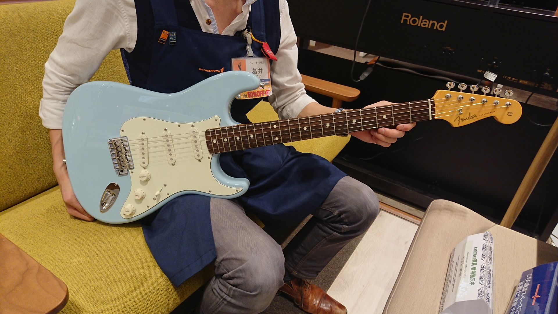 MADE IN JAPAN TRADITIONAL 60S STRATOCASTER®