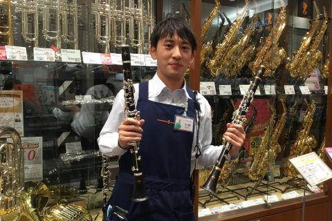 スタッフ写真管楽器・管楽器アクセサリー小林