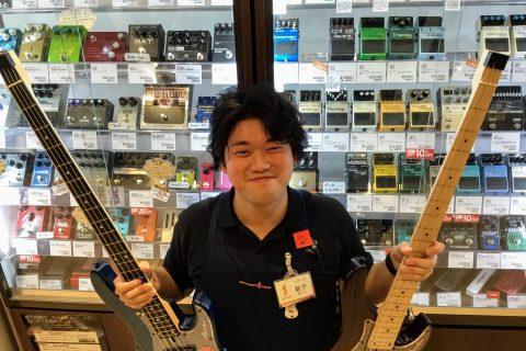 スタッフ写真ベース・エフェクター・アンプ・ギターパーツ・弦新井