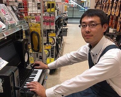 スタッフ写真DTM、デジタル機材、管楽器成田
