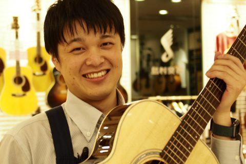 スタッフ写真アコースティックギター/クラシックギター/ウクレレ横山