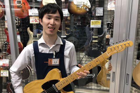 スタッフ写真管楽器、エレキギター友成