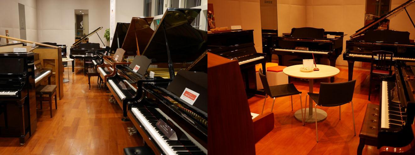 島村楽器エミフルMASAKIピアノルーム