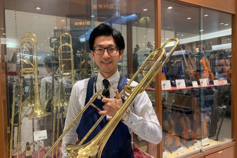 スタッフ写真副店長、音楽教室、管楽器アドバイザー(社内資格)西本