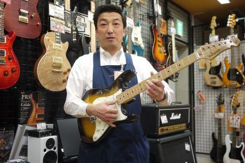 スタッフ写真ギター・ベース太田