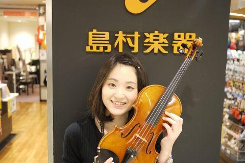 スタッフ写真バイオリンインストラクター池上