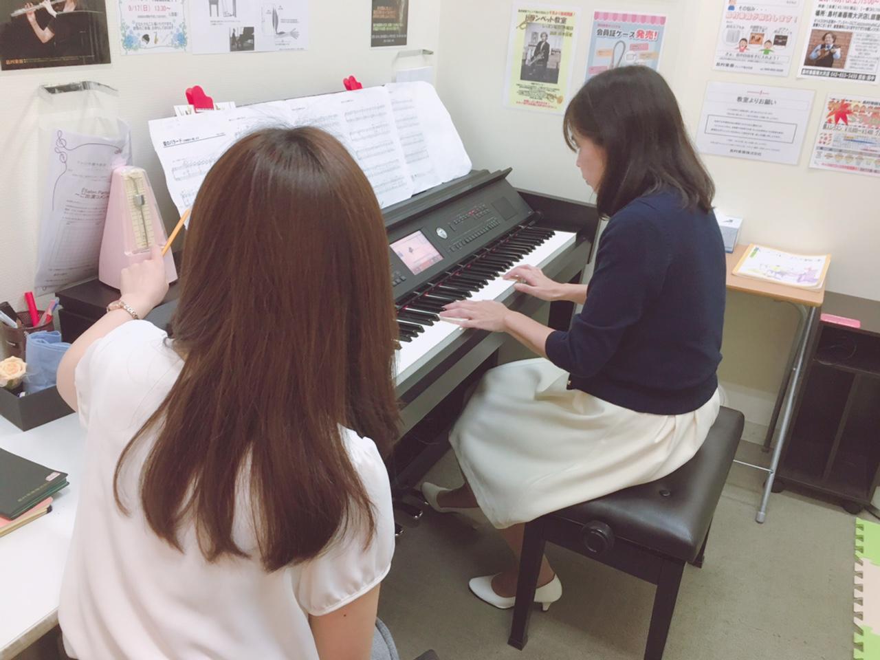 ピアノレッスン風景③