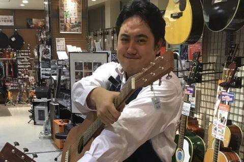 スタッフ写真ギター・ベース・エフェクター北見