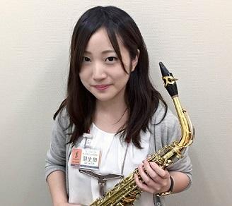 スタッフ写真サックスインストラクター羽生田