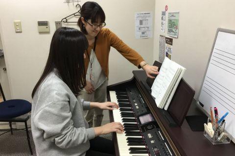 水戸 駅 音楽教室 ピアノ 大人