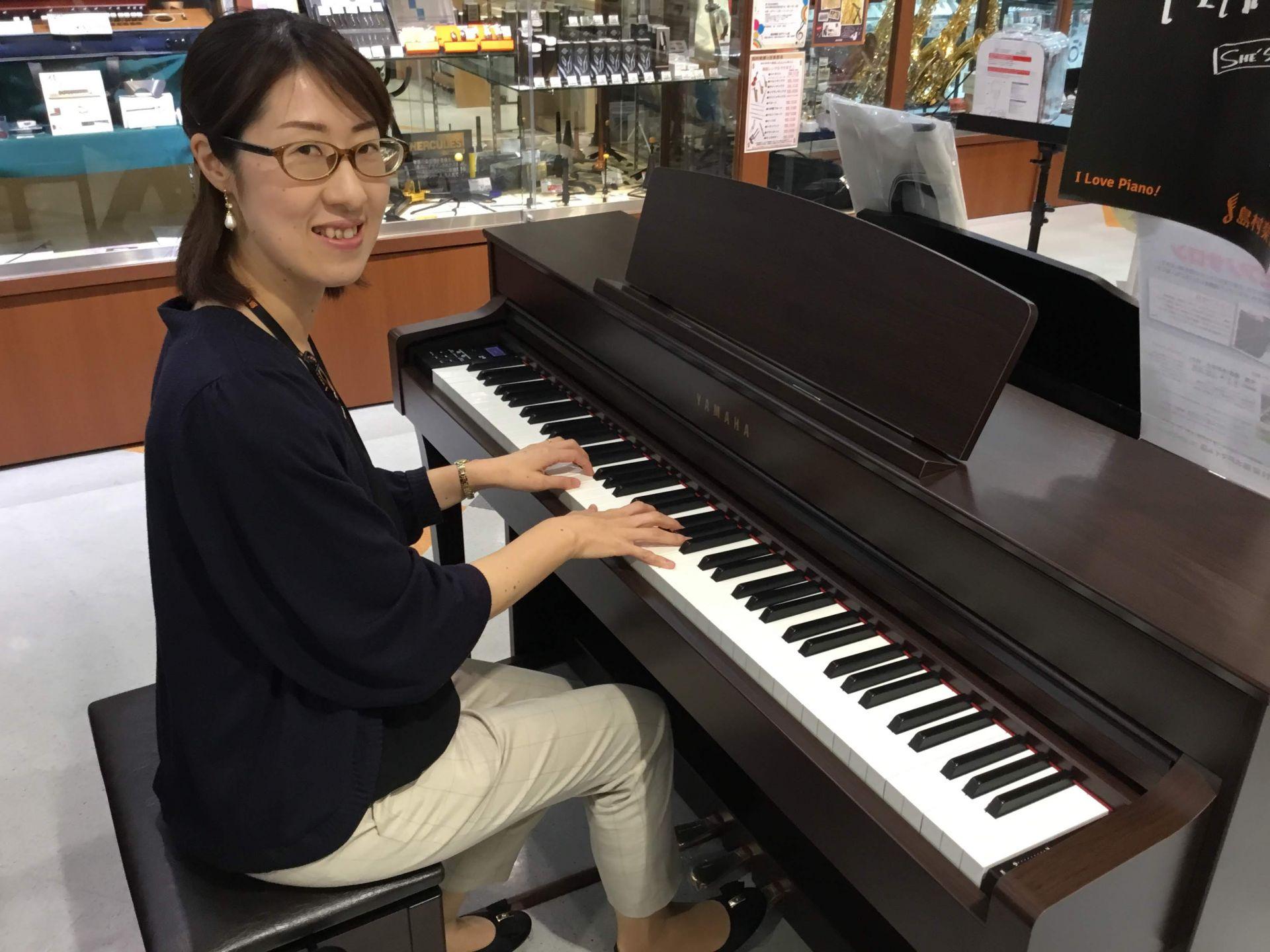 島村楽器 電子ピアノ ピアノ教室  大人 水戸