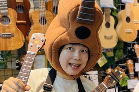 スタッフ写真副店長 アコースティックギター ウクレレ 防音 イベント本山