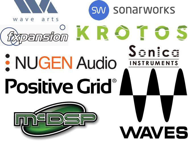 2018年6月6日現在、島村楽器 イオンモール宮崎店でダウンロード販売可能なソフトウェアメーカーの一覧です。今後も拡充していく予定です。