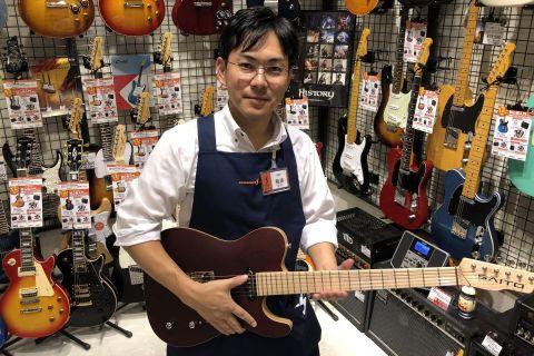 スタッフ写真ギター、ベース、アンプ楠浦