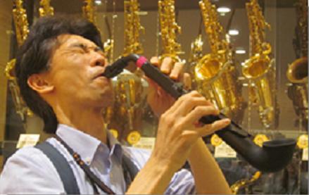 スタッフ写真管楽器・管楽器アクセサリー担当、管楽器シニアアドバイザー山下