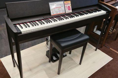 ローランドの「きよら」の限定色(シアーブラック)モデルは、島村楽器 イオンモール宮崎店で展示中です♪