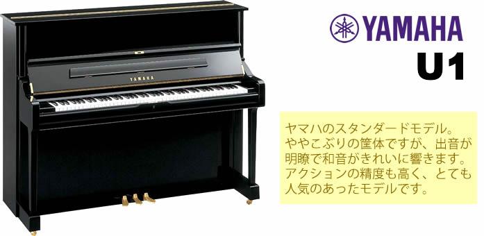 YAMAHA U1 余談ですが、島村楽器イオンモール宮崎店では中古アコースティックピアノも取り扱っております。店頭展示品以外にも用途・ご予算に合わせてお探ししますので、お気軽にご相談ください。