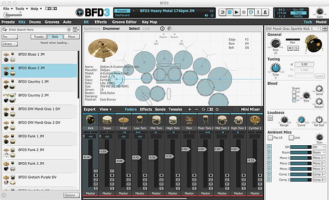 BFD3専用の、7つの新しいキット