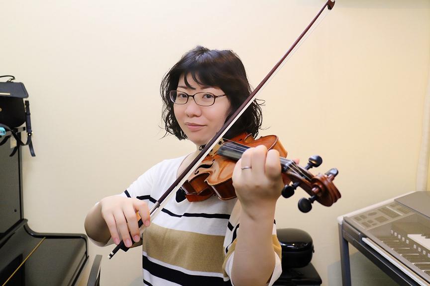 バイオリン 横山 玲奈