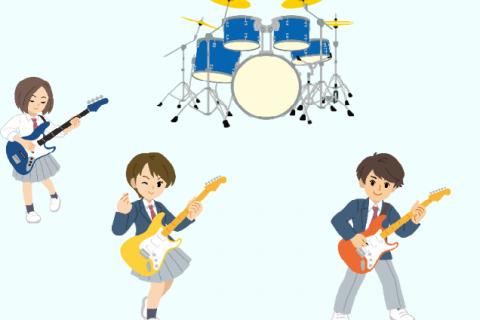 軽音楽部 バンド レッスン 松戸市 ギター教室
