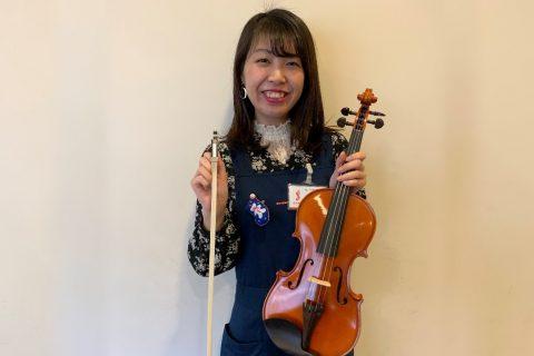 スタッフ写真ピアノ・バイオリン・ヤマハ音楽教室土井
