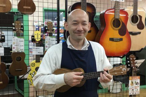 スタッフ写真店長 ギターアドバイザー長南