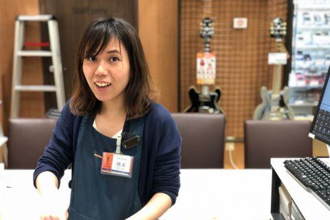 スタッフ写真音楽教室 / イベント 担当橋本
