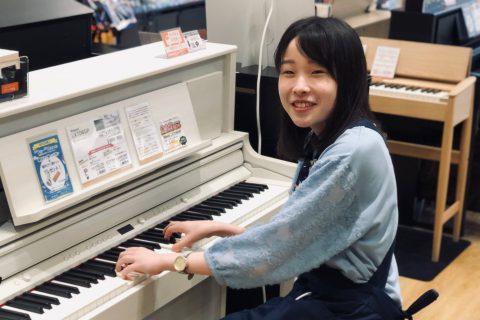 スタッフ写真電子ピアノ / 店舗イベント 担当橘