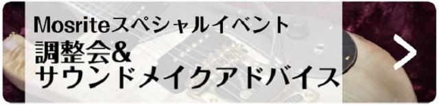 モズライト調整会&サウンドメイクアドバイス