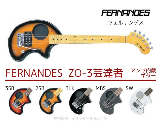 FERNANDES ZO-3芸達者