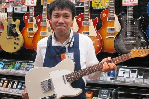 スタッフ写真エレキギター/ウクレレ/アンプ/エフェクター廣田 一也