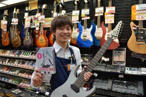 スタッフ写真アコースティックギター/ベース/シンセサイザー/デジタル楽器/アクセサリー中村 清史
