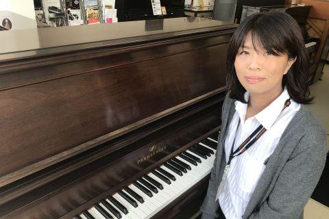 スタッフ写真ピアノインストラクター木村