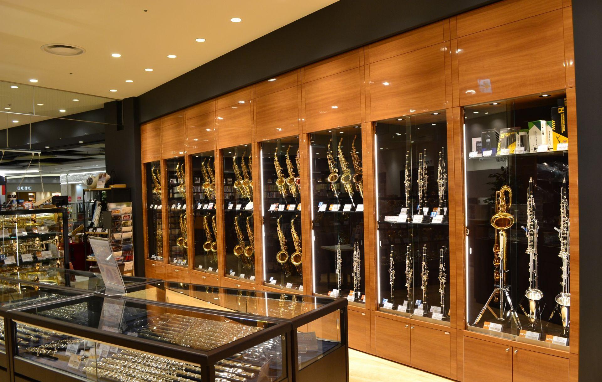 管楽器コーナー画像