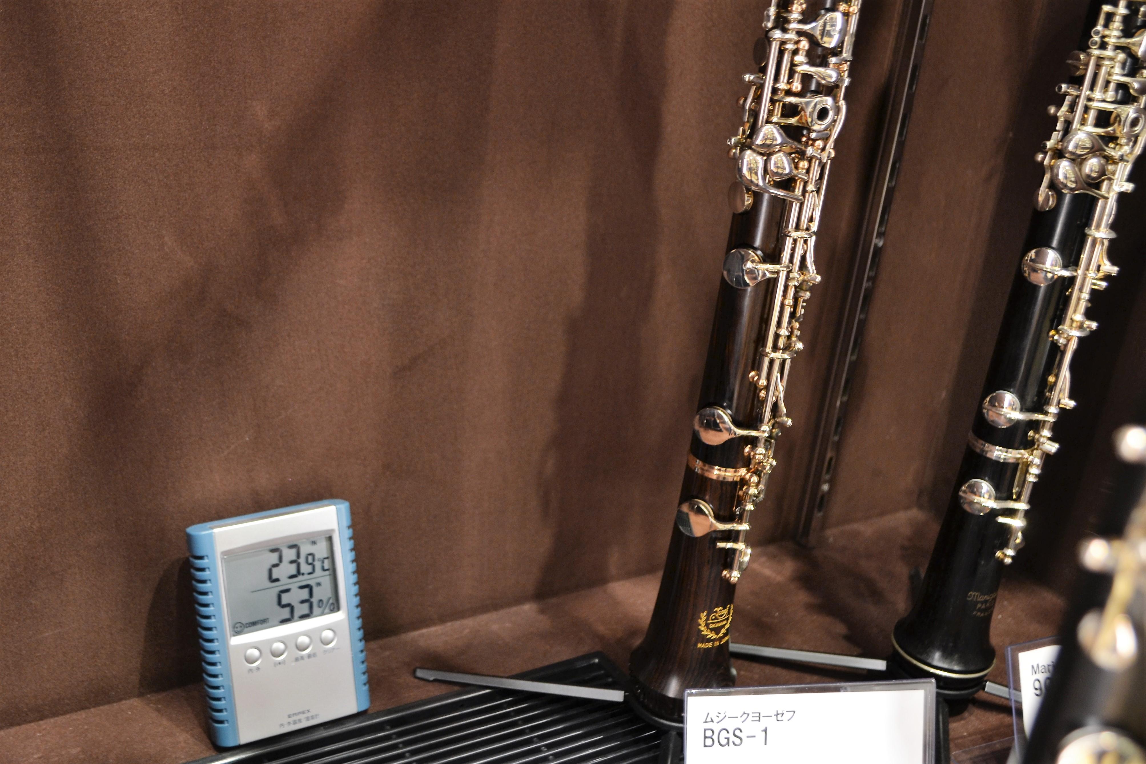 管楽器湿度管理のショーケース画像