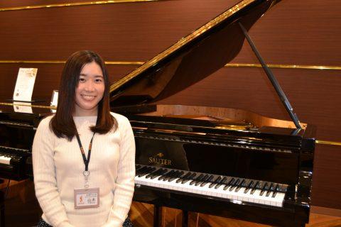スタッフ写真<ピアノインストラクター>ピアノアドバイザー・音楽教室アドバイザー・防音アドバイザー山本