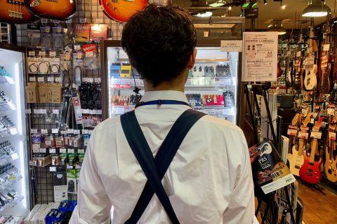 スタッフ写真ギターアクセサリー濵嶋