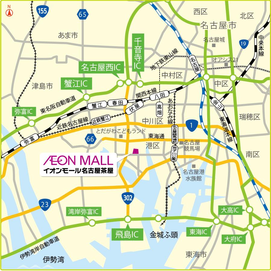 路線バスアクセスマップ