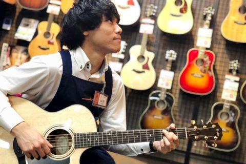スタッフ写真副店長 / ギター・弦楽器アドバイザー 好きなアーティスト:アルカラ山田築玖