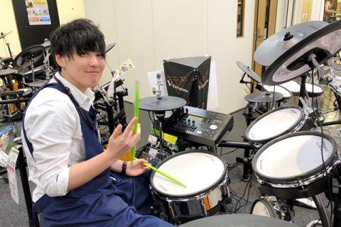 スタッフ写真ドラムアクセサリー、ファンシーグッズ竹田