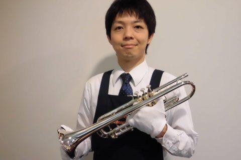 スタッフ写真管楽器リペアマン 好きなアーティスト:すぎやまこういち、植松伸夫、光田康典、祖堅正慶前川