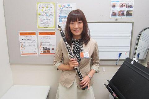 スタッフ写真クラリネットインストラクター熊谷