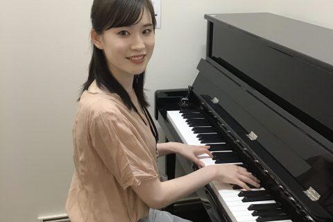 スタッフ写真ピアノインストラクター・ピアノ大野 有咲