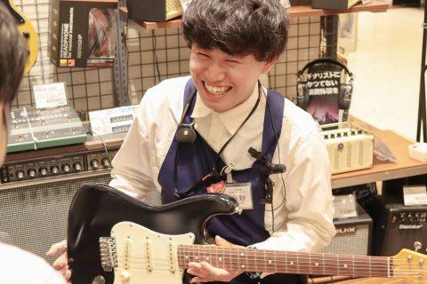 スタッフ写真ギターアドバイザー辰野 裕樹