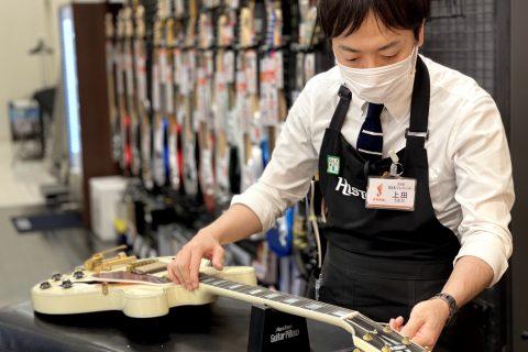 スタッフ写真副店長・ギターアドバイザー・ウクレレ・アンプ・エフェクター上田