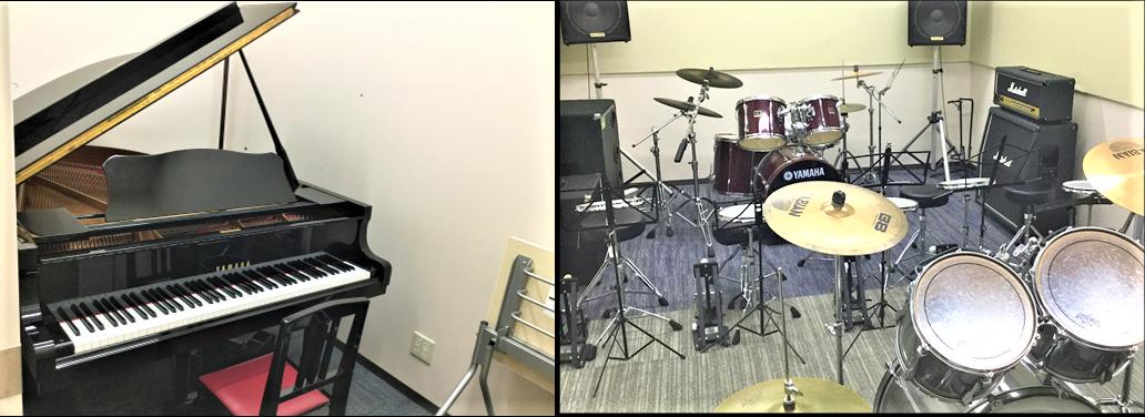 岡山 島村楽器 レッスン室