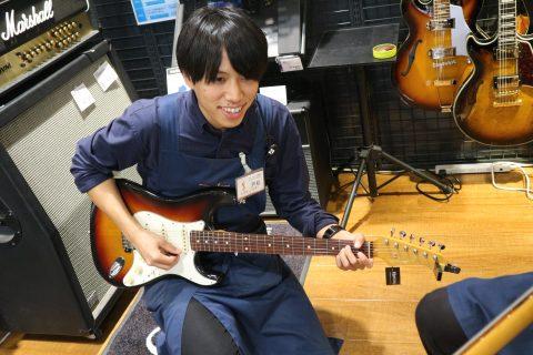 スタッフ写真エレキギター・デジタル楽器戸松