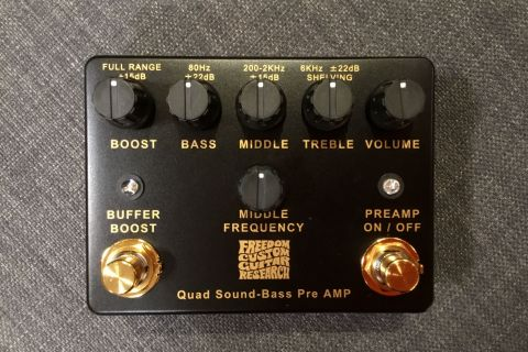 QUAD SOUND BASS PREAMP