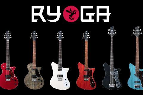 RYOGAからお手頃価格のギター・ベースが6月27日に発売!当店に入荷します!