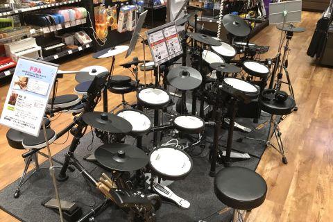 ライカム店電子ドラムコーナー